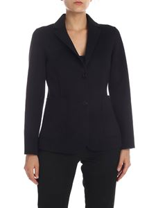 Theory - Wool and cashmere jacket in black