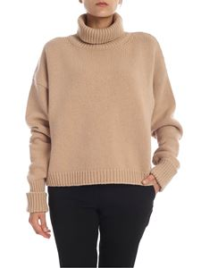 Maison Margiela - Wool and cashmere turtleneck in beige