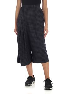 Maison Margiela - Reworked culottes trousers in gray and black