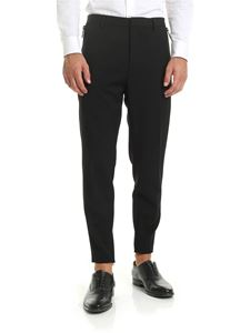 Dsquared2 - Black trousers with side zip
