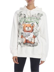 Moschino - Teddy Bear hoodie in white