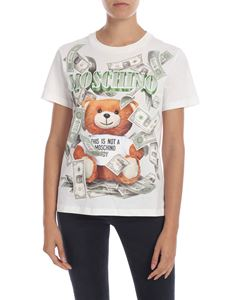 Moschino - Teddy Bear cream colored T-shirt