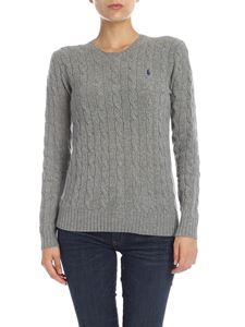 POLO Ralph Lauren - Cable knitted pullover in grey