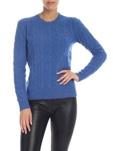 POLO Ralph Lauren - Cable knitted pullover in blue