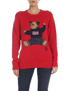 POLO Ralph Lauren - Teddy Bear pullover in red