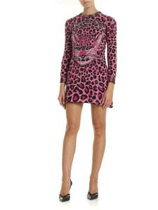 Alberta Ferretti - Save Me animal printed dress in purple