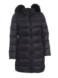 Colmar Originals - Place quilted down jacket in black