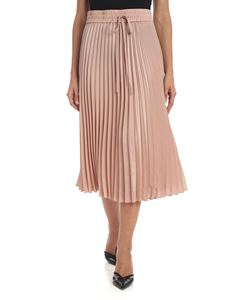 Red Valentino - Pleated skirt in powder pink color
