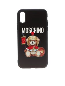 Moschino - Roman Teddy Bear cover in black