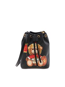 Moschino - Roman Teddy Bear bucket in black