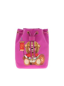 Moschino - Roman Teddy Bear bucket in fuchsia