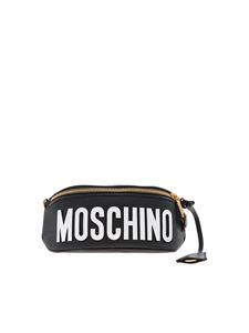 Moschino - Roman Teddy Bear belt bag in black