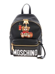 Moschino - Roman Teddy Bear backpack in black