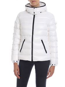 Moncler - Bady hooded down jacket in white