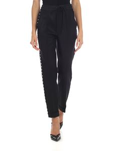 Parosh - Black trousers with studs