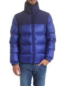 Moncler - Faiveley down jacket in blue