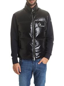 Moncler - Banker sleeveless down jacket in black