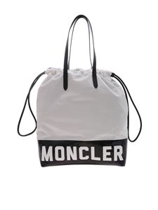 Moncler - Flamenne bag in white and black