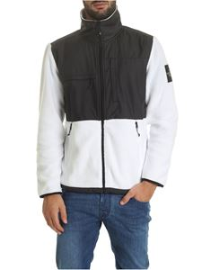 The North Face - Denali jacket in black and white