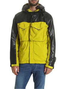 CP Company - Quartz jacket in black and lime color