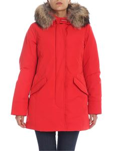 Woolrich - Arctic Luxury Parka in red