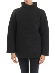 Jacquemus - Agde turtleneck in anthracite color