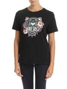 Kenzo - Passion Flower Tiger t-shirt in black