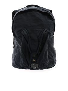 CP Company - Blue vintage effect backpack