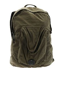 CP Company - Army green vintage effect backpack