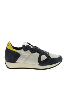 Philippe Model - Monaco sneakers in ice color and blue