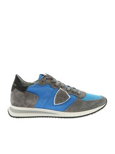 Philippe Model - TRPC Mondial sneakers in grey and light blue