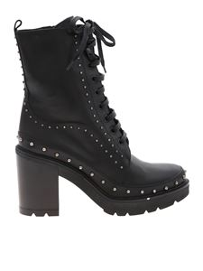 Pinko - Carezza ankle boots in black with heel