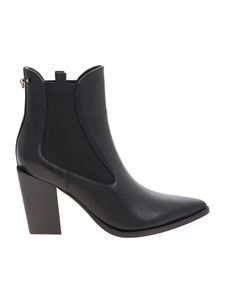 Pinko - Endine pointed ankle boots in black