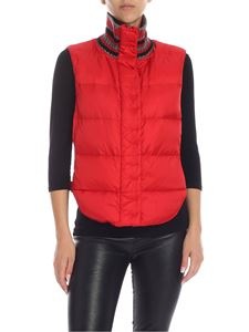 Ermanno Scervino - Red padded waistcoat