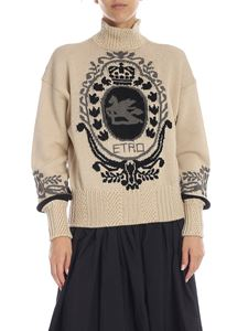 Etro - Wool turtleneck in beige