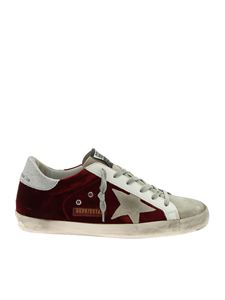 Golden Goose - Sneakers Superstar bordeaux