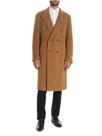 Canali - Brown teddy coat