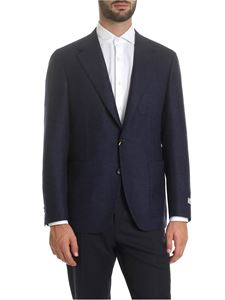 Canali - Blue wool jacket