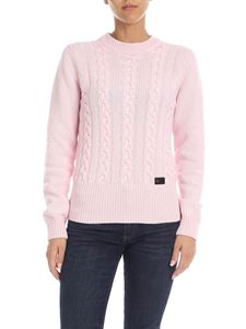 be Blumarine - Pink pullover with logo detail