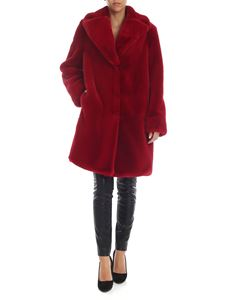 be Blumarine - Red eco-fur