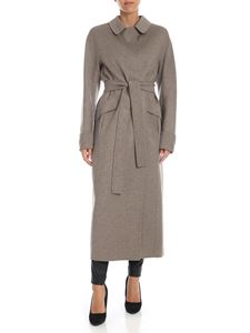 S Max Mara - Dora coat in mud color