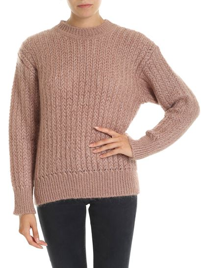 negozio online 8ba90 15621 Pink Lamè ribbed pullover