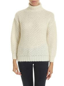 Alberta Ferretti - Turtleneck in cream color