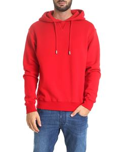Dsquared2 - Red sweatshirt with hood