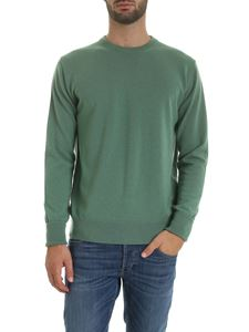 Ballantyne - Pure cashmere pullover in green