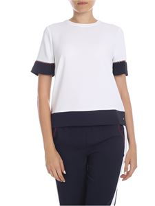 Tommy Hilfiger - Florentina t-shirt in white and blue