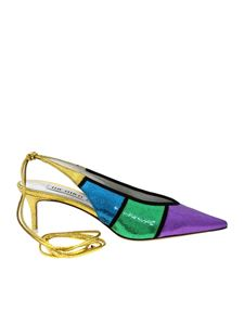 The Attico - Multicolor Slingback