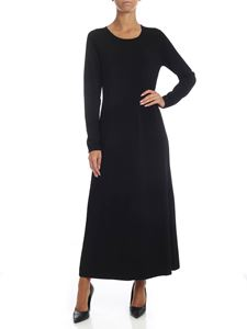 S Max Mara - Biblios dress in black
