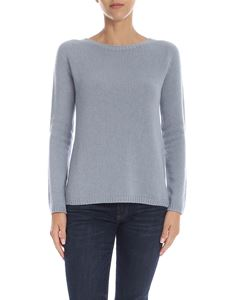 S Max Mara - Giorgio cashmere pullover in light blue