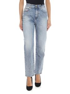 Diesel - D-eiselle jeans in light blue delavè